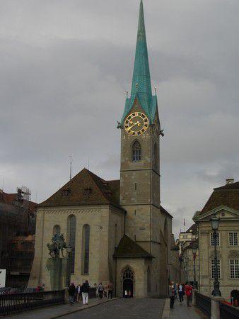 Zürich, Altstadt, Fraumünsterkirche