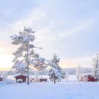In Schweden ist der Winter, wie er sein soll
