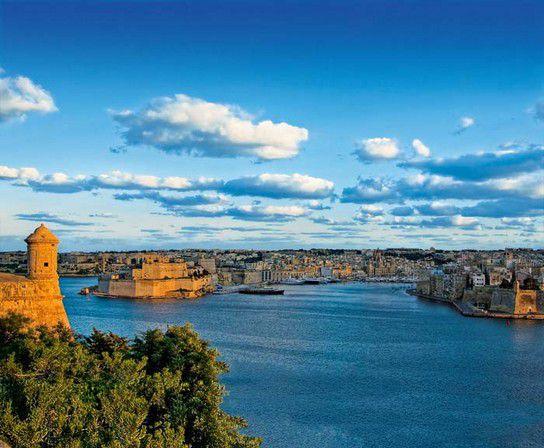 Küste von Valletta
