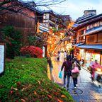 Platz 2: Kyoto überrascht mit Spitzenplatzierung