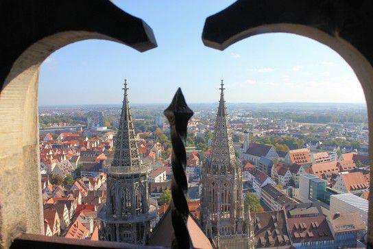 Ausblick vom Münster