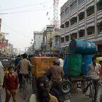 Varanasi erstickt im Verkehr