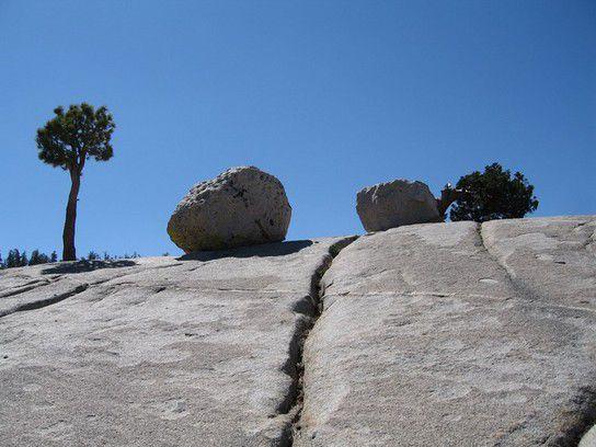 Felsen im Yosemite N. P.