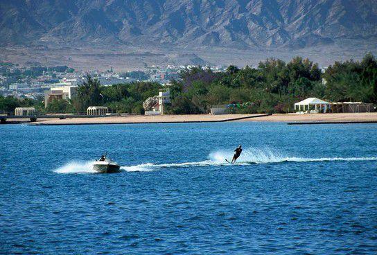 Wasserski in Aqaba