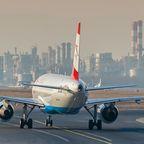 Ready for take off: Eine Austrian Airlines Maschine am Flughafen Wien