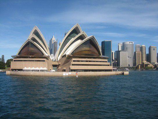 Opera House Sydney vom Wasser aus!