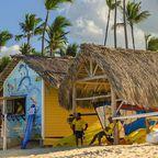Bootsverleih in einer Strandhütte auf Anguilla