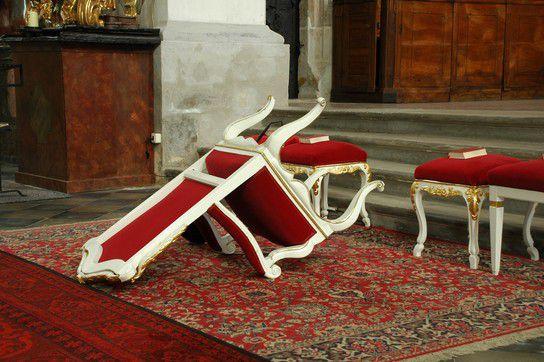 Der Sturz des Pfarrers