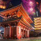 Silvester 2019, 31. Dezember, 16 Uhr: Japan, Südkorea