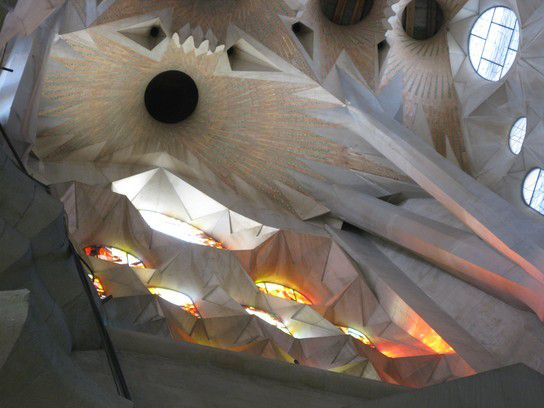 Decke der Sagrada Familia