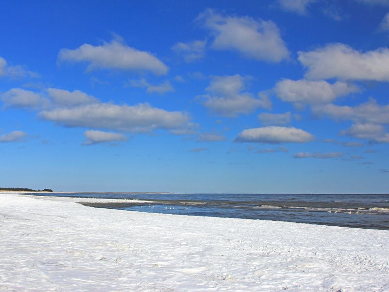 In Deutschland laden Nord- und Ostsee oder wunderschöne Seen zum Relaxen ein, so auch der Nordstrand von Prerow auf der Halbinsel Fischland-Darß-Zingst
