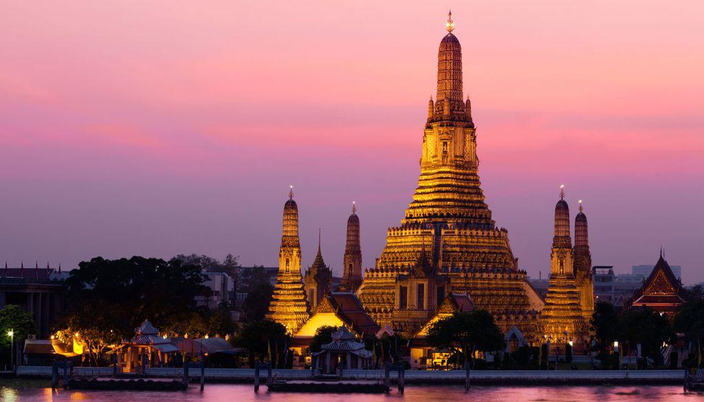 Eine Reise nach Bangkok lohnt sich zum Beispiel im Januar.