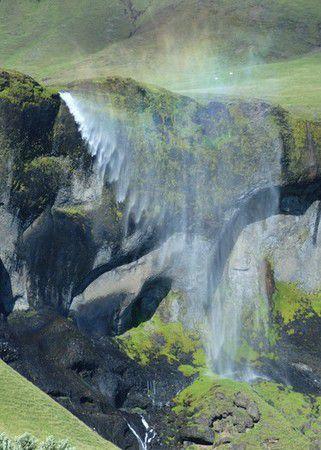 umgekehrter  Wasserfall