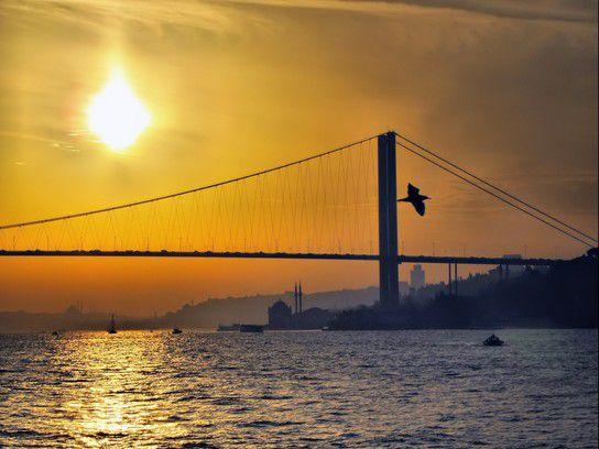 Abendstimmung auf dem Bosporus