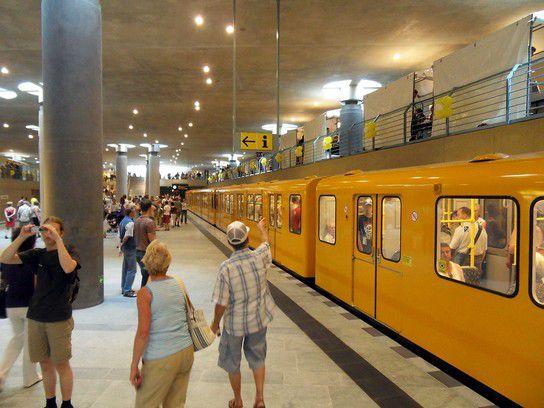 U-Bahnhof Hauptbahnhof - U 55