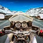 Motorradfahren in Norwegen
