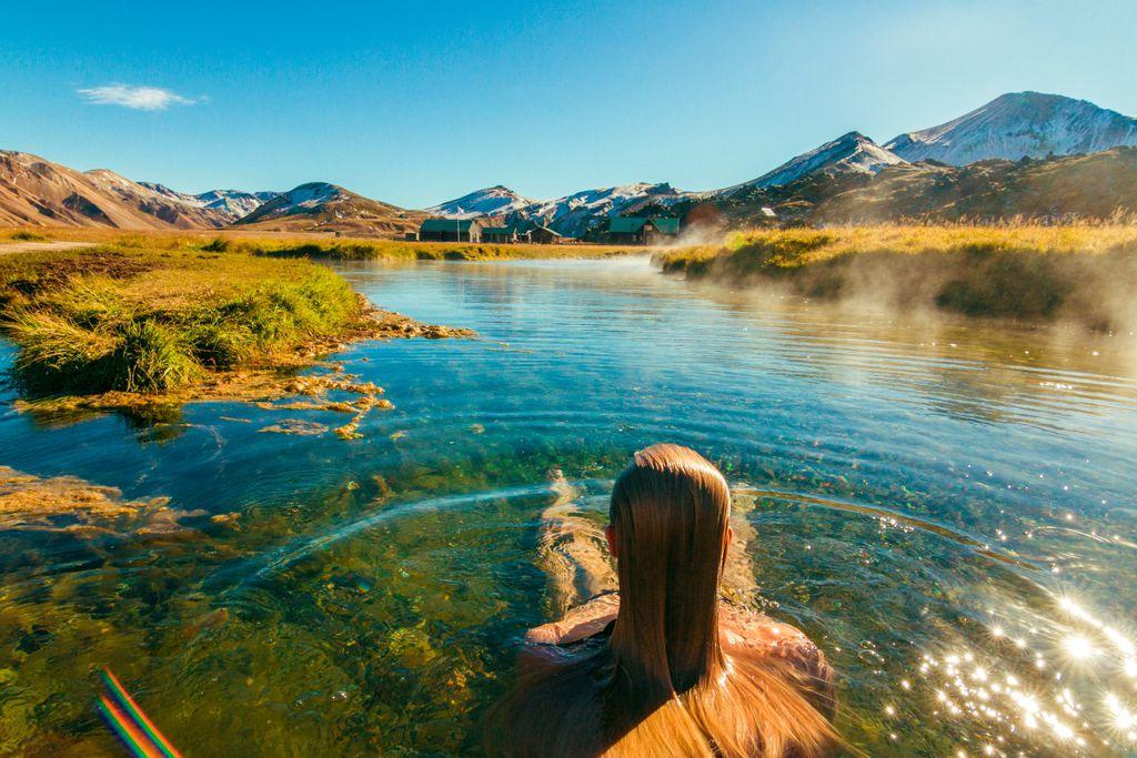 Island Do's: Heiße Quellen