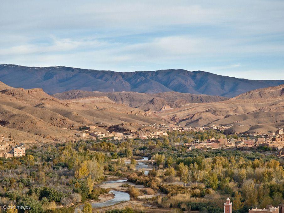 Vallée de l'Oued Dadès