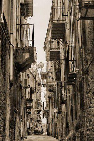 In den Gassen von Palermo