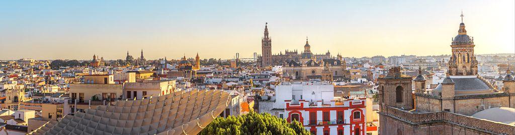 Das historische Zentrum von Sevilla