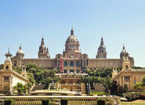 Das Kunstmuseum von Katalanien