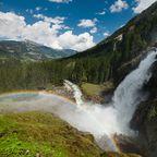 Die Krimmler Wasserfälle locken jährlich bis zu 350.000 Besucher an