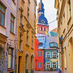 Riga im Herbst