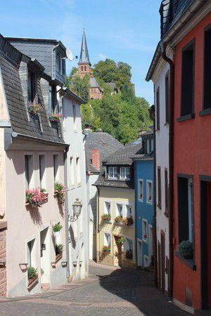 Gasse in Saarburg