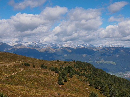 Bergwelt bei Lüsen in Südtirol