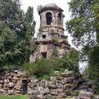 Ein alter Tempel im Schwetzinger Schlosspark
