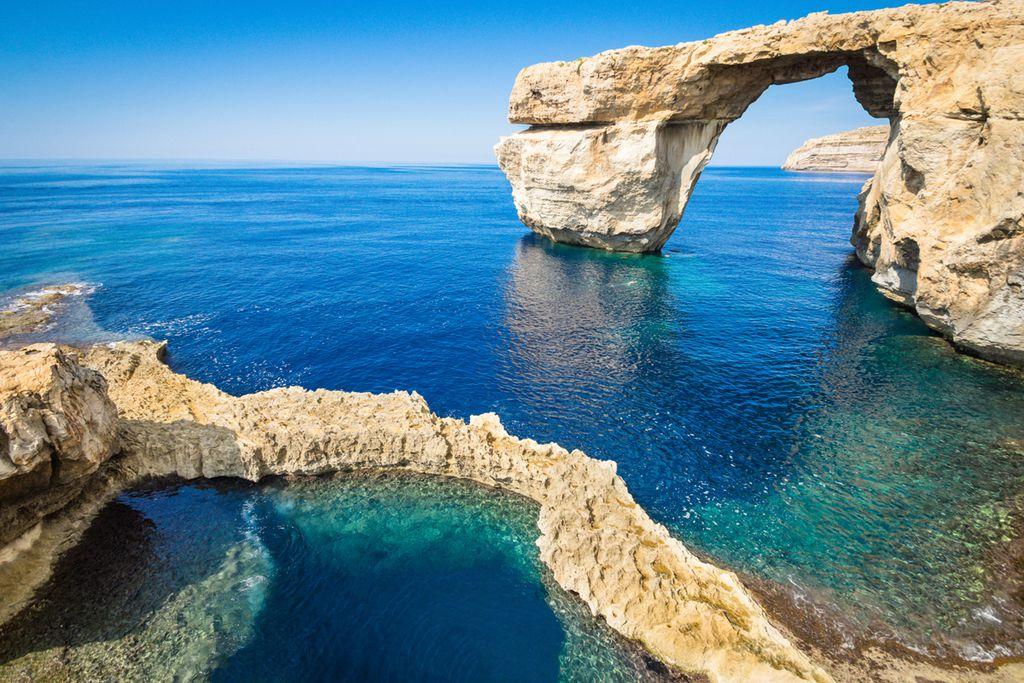 Azure Window, Malta – Daenerys und Drogo's Hochzeit