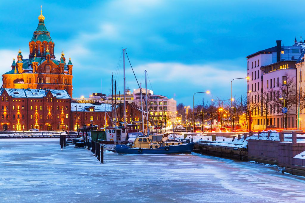 Finnlands Hauptstadt Helsinki ist ganzjährig eine Reise wert