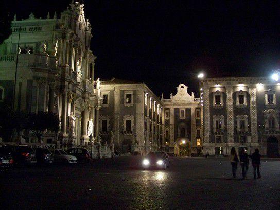 Piazza del Duomo di notte