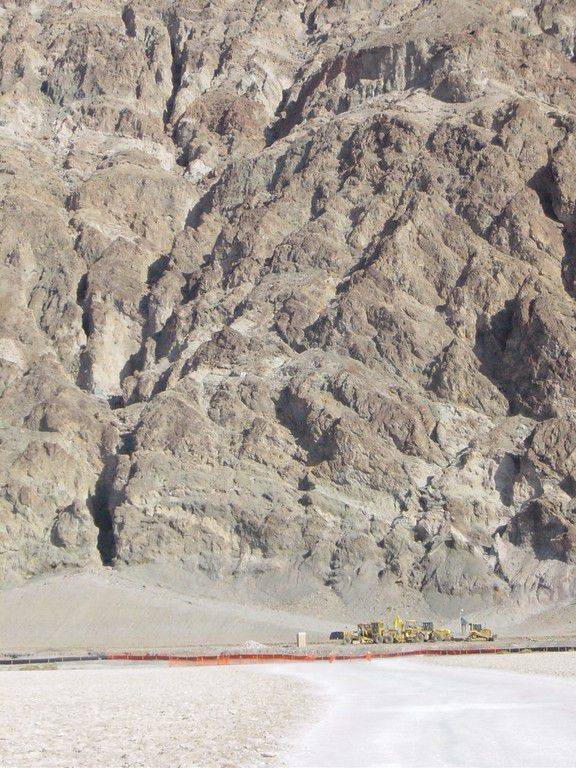Death Valley - Tiefster Punkt 85m unter Meeresspiegel