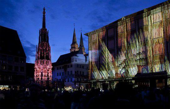 Blaue Nacht in Nürnberg