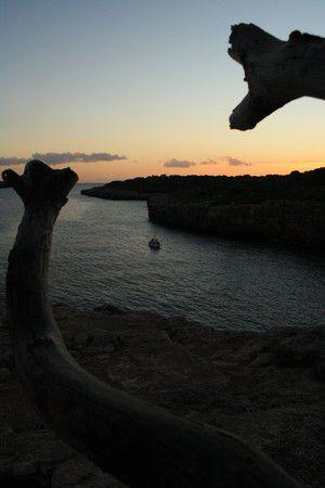 Sonnenuntergang in Calla Pi