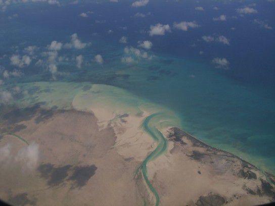 Ueber den Wolken der Bahamas