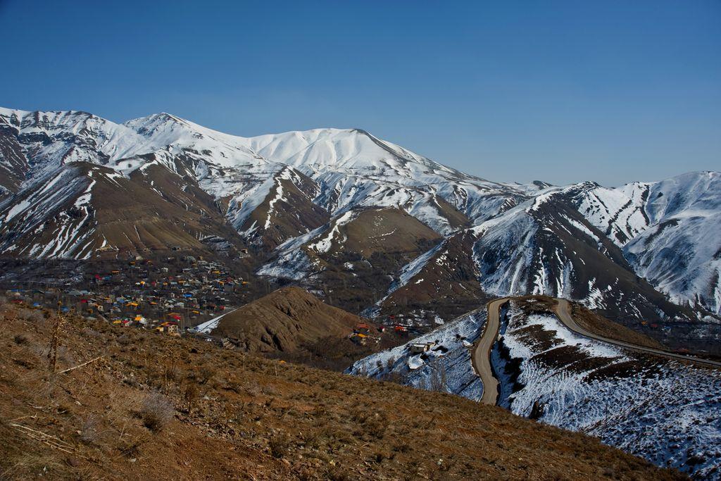 Blick auf den Berg Damāwand