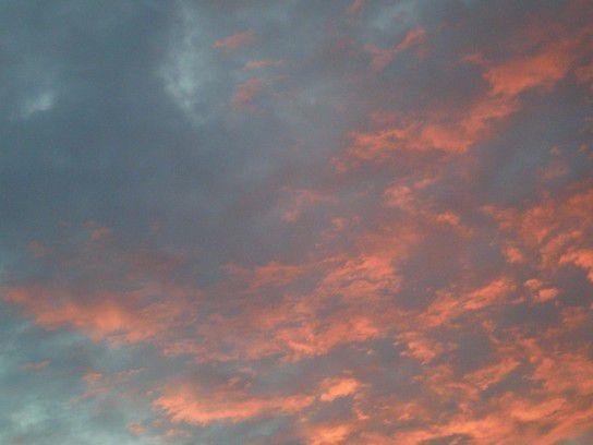 Himmel im Flammen II