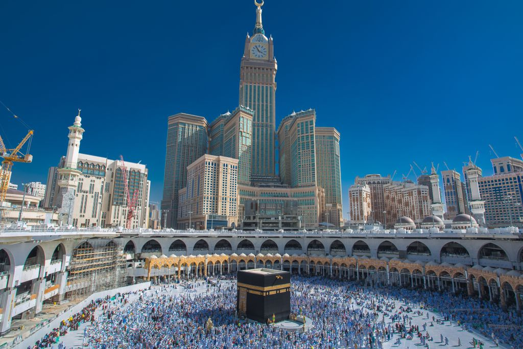 Hier geben Touristen am meisten aus, Platz 2: Mekka