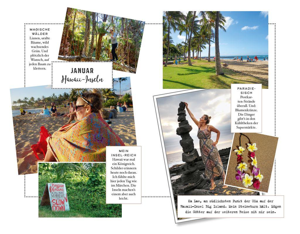 Januar: Hawaii-Inseln