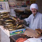 Fischverkauf in Kairo