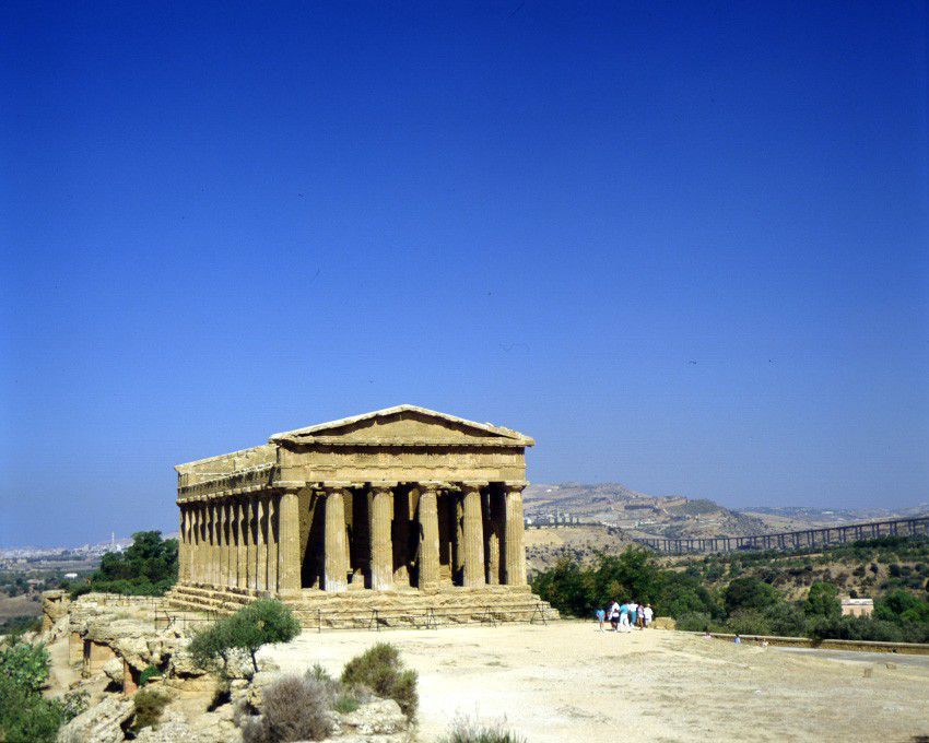 Sizilien, Temple of Concord