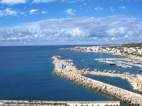 Santa Maria di Leuca Hafen