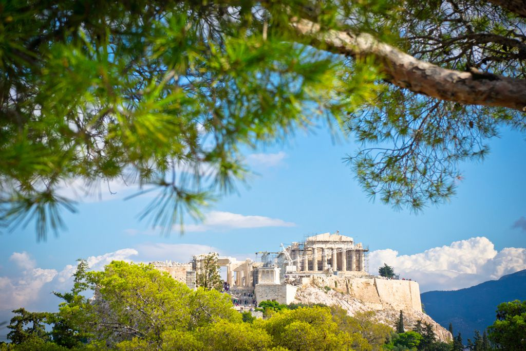 Athen ohne Hitzschlag erkunden
