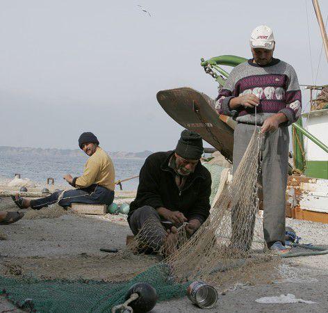 Fischer auf Rhodos