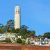 Coit Tower auf dem Telegraph Hill