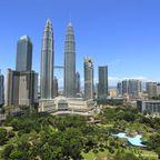 Panorama von Kuala Lumpur