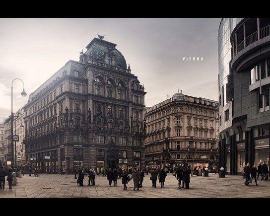 Wien, Graben & Stephansplatz
