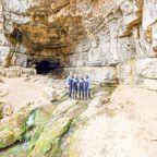 Eingangsportal Falkensteiner Höhle